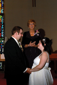 Carol Shafto wedding officiant